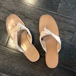 Diane Von Furstenberg DVF knotted thong sandals